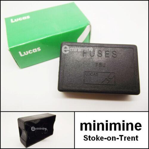 Classic Mini Genuine Lucas Fuse Box LID COVER 4-line 1976-94