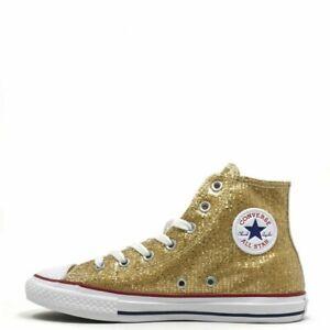 Scarpe da ginnastica Chuck Taylor All Star oro per donna