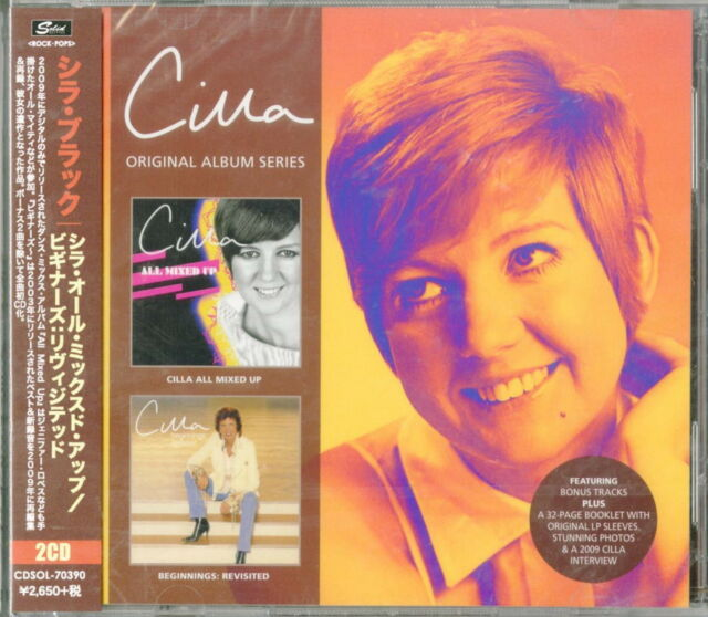 CILLA BLACK-CILLA ALL MIXED...-IMPORT 2 CD+BOOK WITH JAPAN OBI BONUS TRACK F96