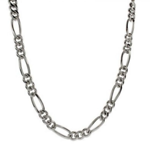 Men-039-s-24-034-Inch-Stainless-Steel-Figaro-Chain-Link-5-5mm-Necklace-C7
