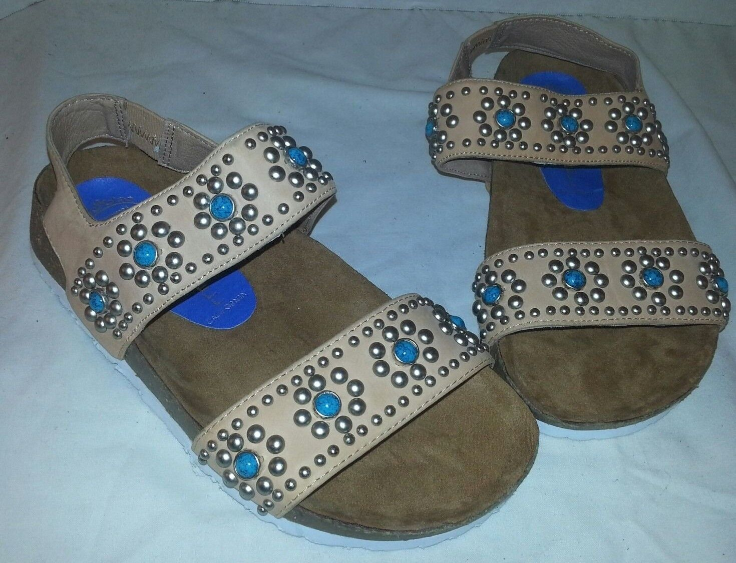 Nuevo Jeffery Campbell Campbell Campbell Beige Cordoba embellecido Sandalias Zapatos Para Mujer Talla 6  tomar hasta un 70% de descuento