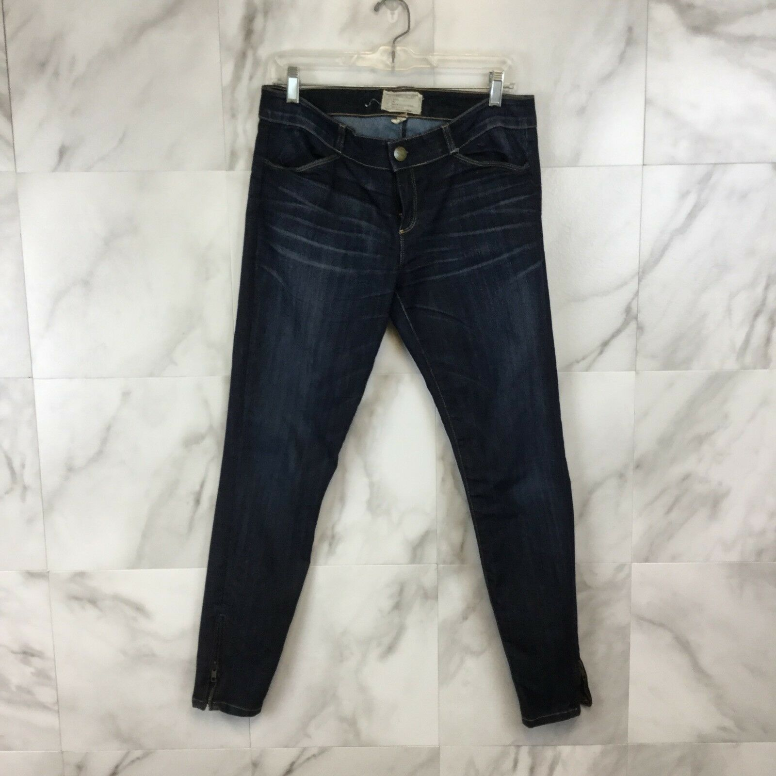 Current Elliott Zipper Skinny Jeans - Size 28