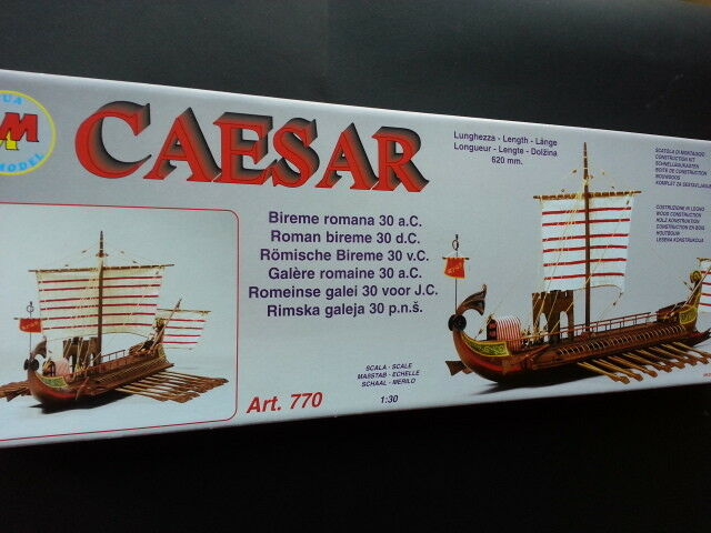 Nave BArca kit legno Mantua Model CAESAR scala 1 30
