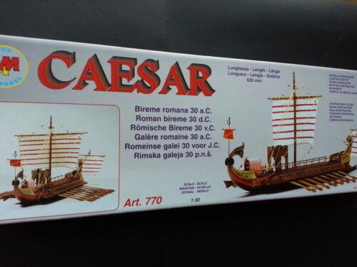 Nave//BArca kit legno Mantua Model CAESAR scala 1//30