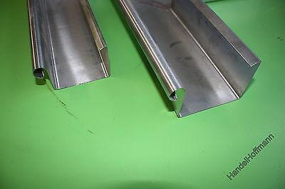 Ehrlichkeit Kastenrinne Kastendachrinne Dachrinne Titanzink 2 M Lang Hoher Standard In QualitäT Und Hygiene Regenrinnen & Zubehör