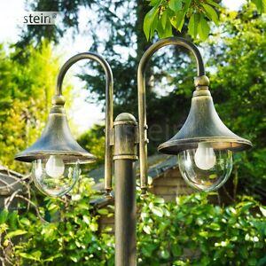 Détails sur Lampadaire Lampe de jardin Éclairage extérieur Réverbère Lampe  sur pied 157211