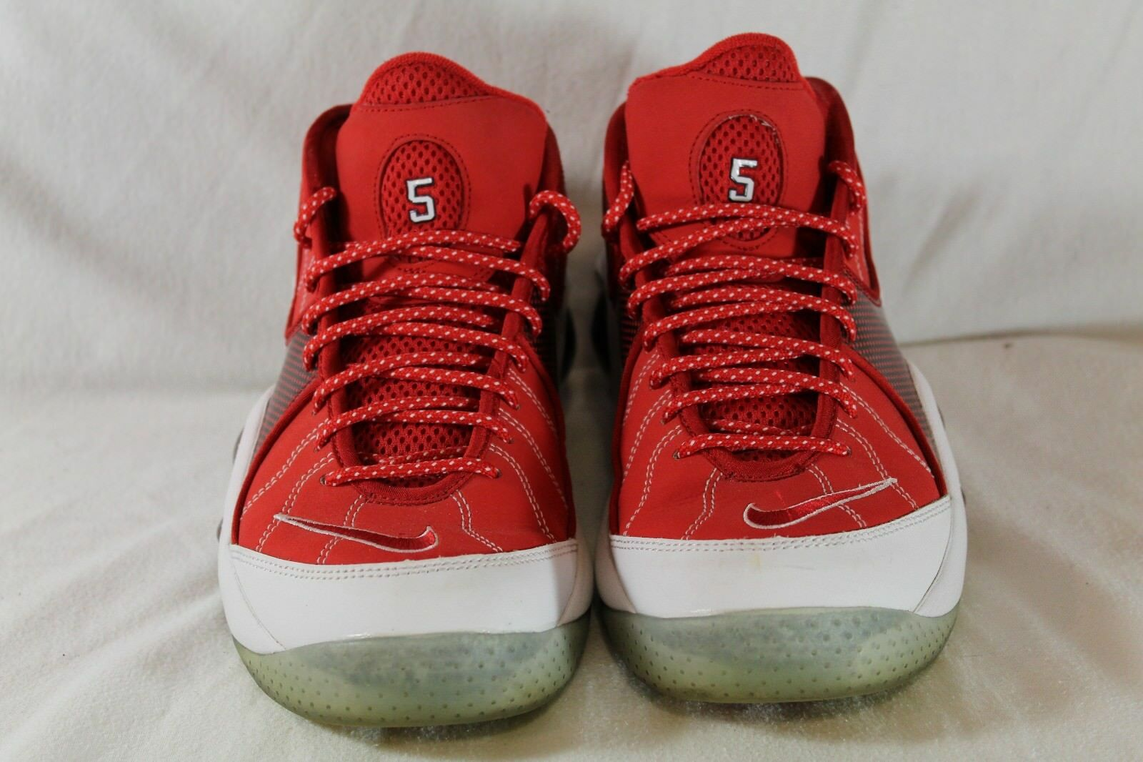 Nike Zoom Flight 95 Jason Kidd PE Nets Size 8.5 Pre-Owned 574724-600