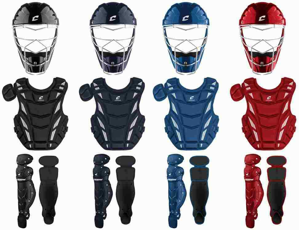 NEW  CHAMPRO OPTIMUS MVP COMPLETE 2-TONE CATCHER GEAR SET ADULT YOUTH PEEWEE
