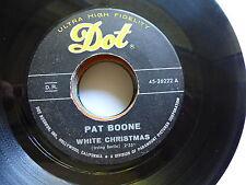 PAT BOONE White Christmas / Jingle bells 45-26222 DOT