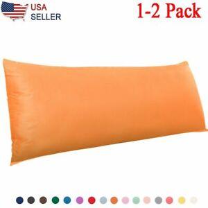 "Ultra Soft Body Pillowcase Microfiber Pillow Case Body Pillow Cover Size 20""x35"""