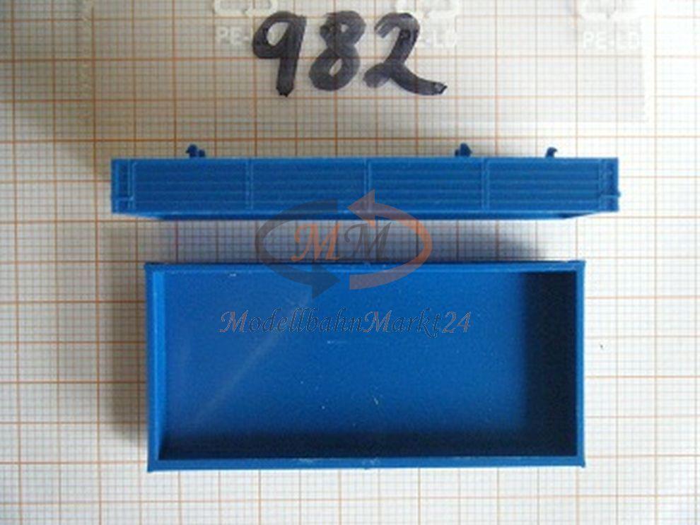 30x ALBEDO Ersatzteil Ladegut  Pritsche 7,5t Holtpritsche blue blue blue 1 87 - 0982 cd7f5f