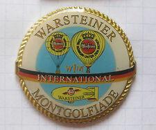 INTERNATIONALE WARSTEINER MONTGOLFIADE / WIM  ..... Bier-Ballon-Pin (101g)