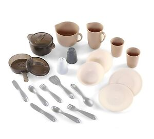 New Step2 LifeStyle Dining Room Pots and Pans Set Play Pretend Eating Food House