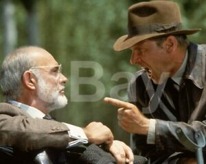 Indiana-Jones-and-the-Last-Crusade-1989-Harrison-Ford-Sean-Connery-10x8-Photo