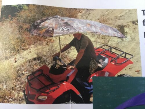 RIDING MOWERs Blue  ...umbrella for ATVs,BOATS,,PERSONAL WATER CRAFT