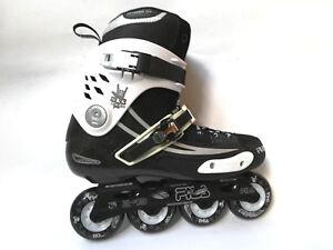 Fila-NRK-Road-Slalom-Freeskate-Streetskate-Inliner-Black-White-Gr-42