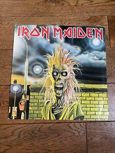 IRON MAIDEN - Debut Fame Pressing A1 B1 LP Vinyl NWOBHM