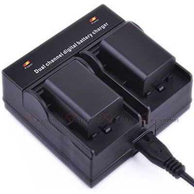 BLN-1 BLN1 Dual Channel Battery Charger For Olympus E-M5 E-P5 E-M1 OM-D EM1 EM5