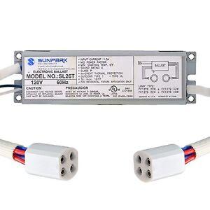 Radiant RCB64 Circline Fluorescent Lamp Ballast Dual FC12T9 32w TLE64