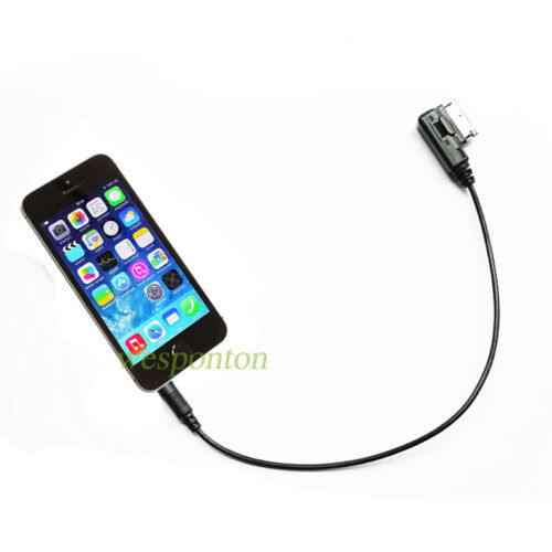 Music Interface AMI MMI to 3.5mm Male Jack Audio AUX Adapter Cable for Audi A3