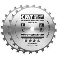 Cmt Orange Tools 24 Teeth 8 Diameter Precision Dado Set Cmt230.524.08