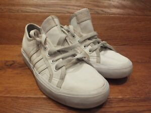 half price new authentic free shipping Details about adidas Originals Nizza White Casual Trainers UK 5 EU 38