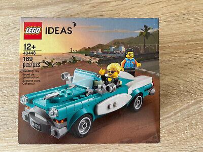 LEGO 40448 Ideas Vintage Car 189pcs New /& Sealed Limited Edition Collectors Set