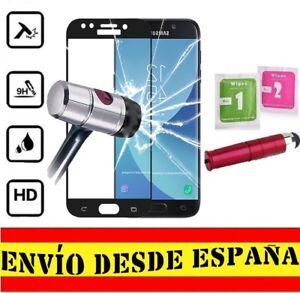 Protector-Pantalla-COMPLETO-NEGRO-SAMSUNG-GALAXY-J5-2017-Cristal-Templado-P-ROJ