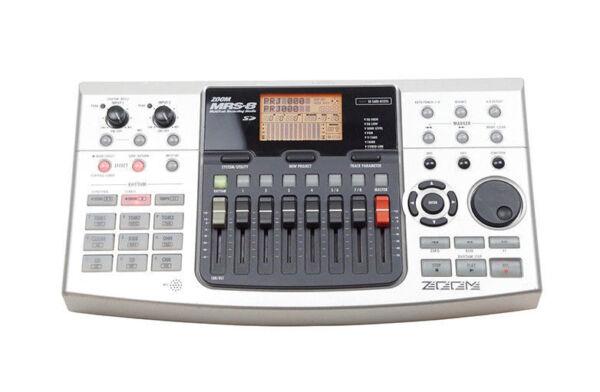zoom mrs 8 multitrak digital recording studio 8track recorder drum bass machine for sale online. Black Bedroom Furniture Sets. Home Design Ideas