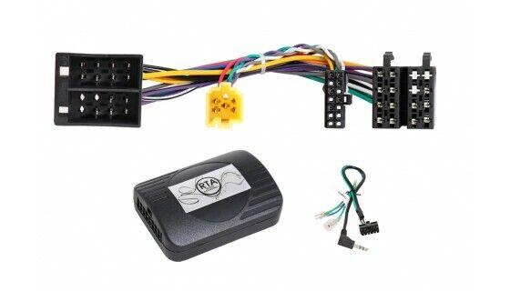 Renault Clio Laguna Megan Mode Scenic; Car Radio Adapter + Steering Wheel