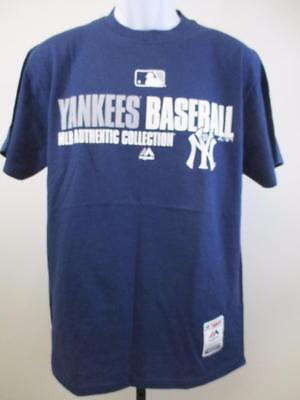 100% Wahr Neu Ny New York Yankees Baseball Herren Größen S-m-l-xl-2xl Majestic Shirt Baseball & Softball Sport