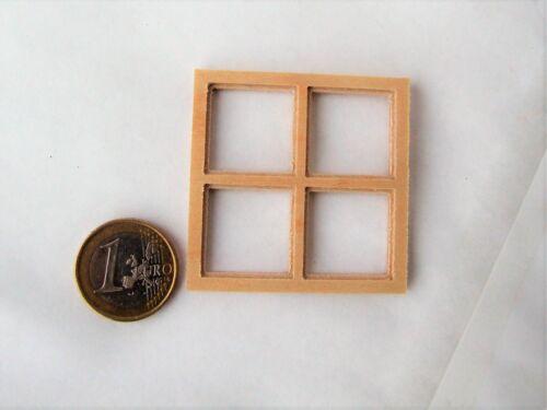 bloxxs F-05 Holz Fenster für LGB G Modellbau Gebäude Krippe Haus Modelleisenbahn