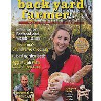 BACK YARD FARMER NUMBER TEN NEW IN STOCK PB RECIPES GARDEN CHOOKS CHEESE 2012
