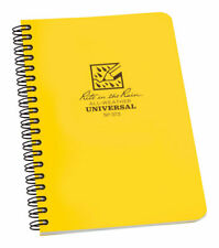 Rite In The Rain 373 Polydura Yellow 64 Pages Side Spiral Notebook Pack Of 6