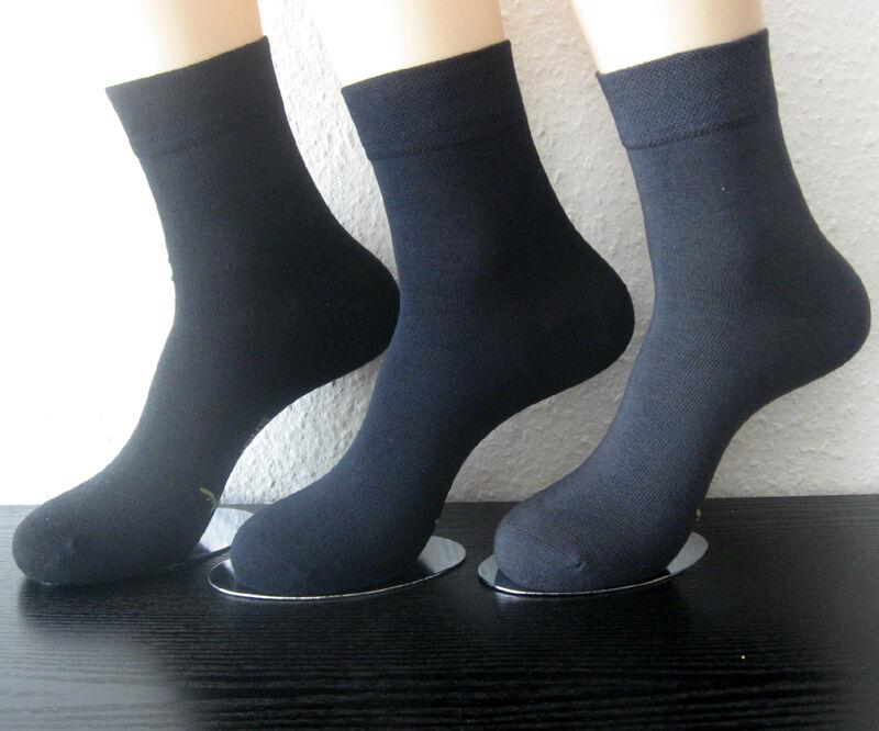 Damen Harmony Bambus Kurzschaft Socken ohne Gummi 3 Farben 35 bis 42