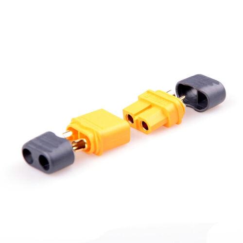 10 x XT60 XT60H Plug connector with Sheath Housing 5 Male 5 Female