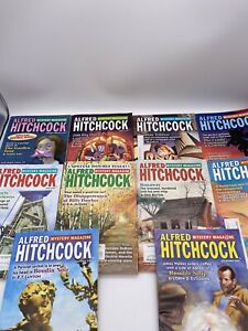Lot of 10 Alfred Hitchcock Mystery Magazines 2009. Complete Year