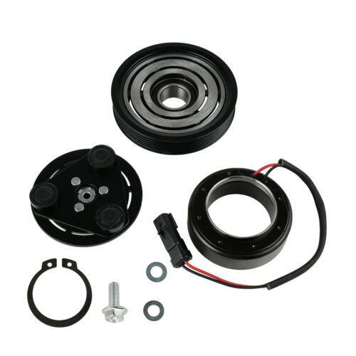Car A//C Compressor Clutch Kit Black Steel for Jeep Liberty Dodge Nitro 3.7 V6