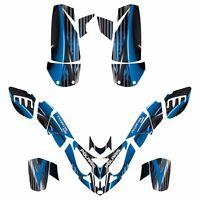 Polaris Predator 500 Graphics Sticker Kit 3333 Blue