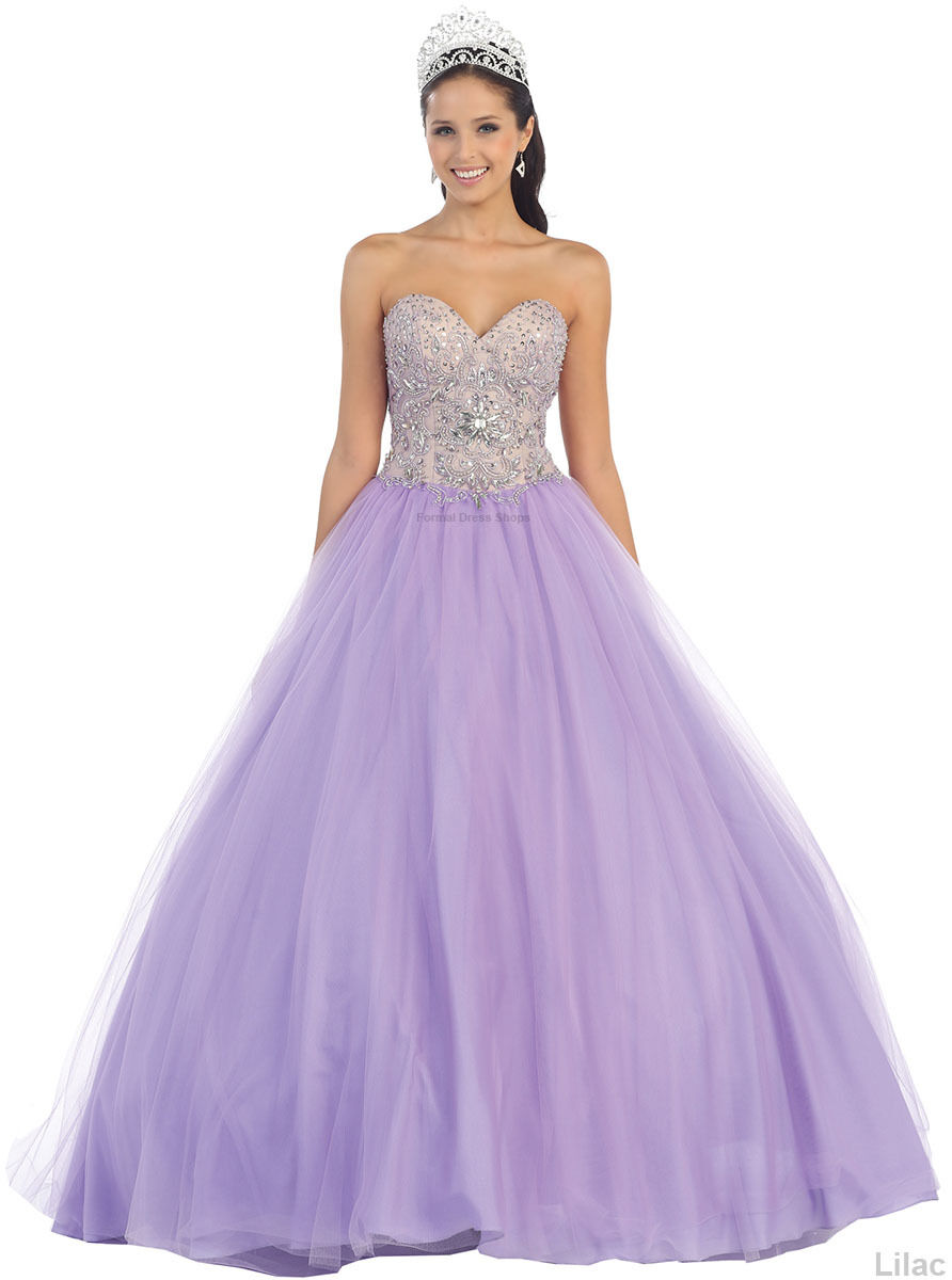 ab6a539afcaa Details about SALE ! QUINCEANERA PROM SWEET 16 BALL GOWN PAGEANT MASQUERADE  CINDERELLA DRESSES