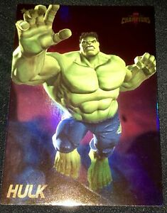 HULK FOIL Dave and Buster/'s Marvel Contest of Champions Card