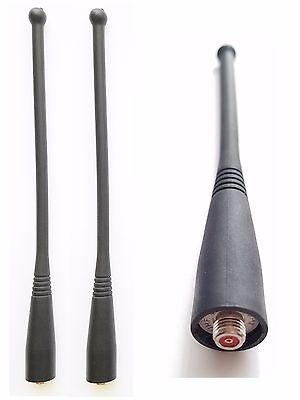 """2 UHF Antenna MOTOROLA HT1000 XTS2500 XTS3000 XTS3500 Visar MT2000 MTS2000 7/"""""""