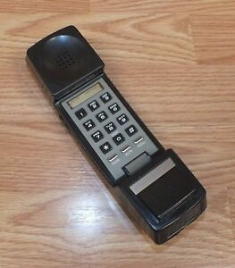 Replacement-Vintage-GE-Brown-Handset-Only-For-GE-7-4719A-Clock-Radio-READ