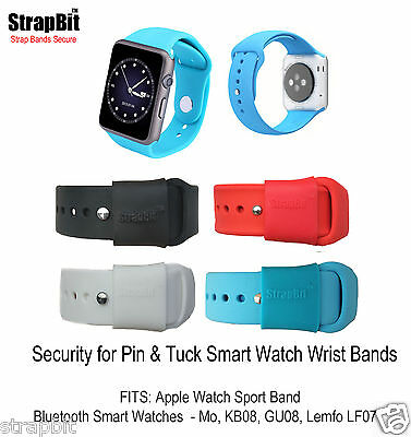 Apple Sport, Gu08, Lf07, Mo,pebble.. Security Ring - Keeps Band Strap Secure