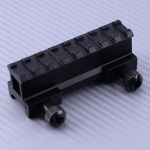 8Slot-Legierung-Hoehen-Adapter-Montage-fuer-Weaver-Picatinny-Schiene-Erhoehung-20mm