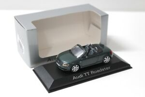 1-43-Minichamps-Audi-TT-Roadster-8n-dark-green-dealer-New-en-Premium-modelcars