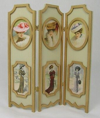 1//12 Scale Fabric Panel Dressing Screen Kit CHM
