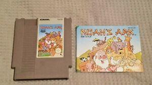 NOAH-039-S-ARK-Nintendo-NES-PAL-A-Version-Konami-1992