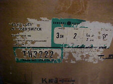 Ge Th 3222 60 Amp 240 Vac 250dc Fusible Disconnect P21
