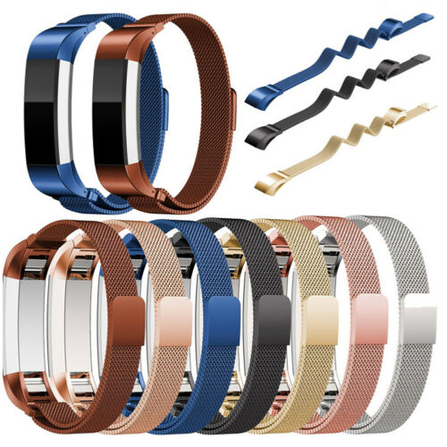 For Fitbit Alta//Alta HR Band Strap Stainless Steel Magnetic Wristband Bracelet E